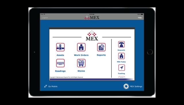 MEX on the iPad